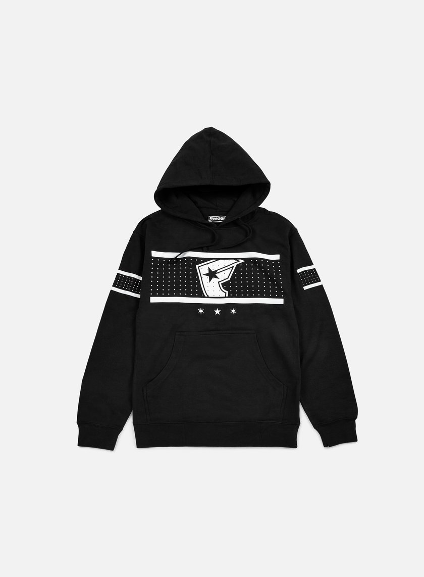 Famous - Shots Fired Hoodie, Black