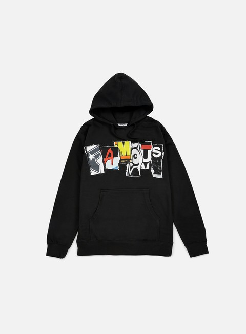 felpe famous trashed hoodie surplus