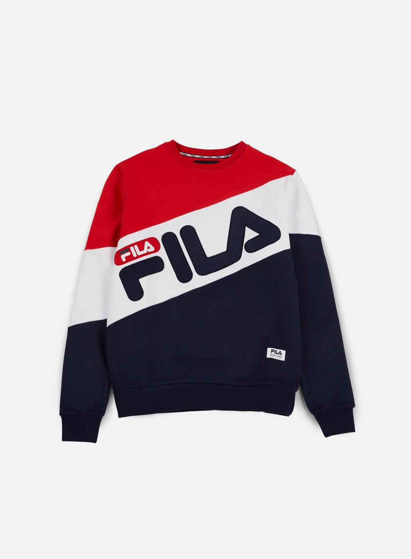 Fila - Alec Crewneck, Chinese Red