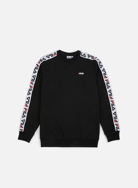 felpe fila aren crewneck black