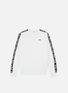 Fila - Aren Crewneck, Bright White