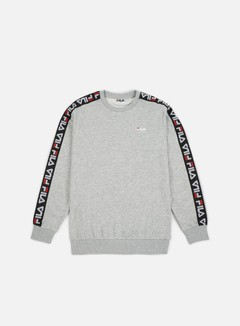 Fila - Aren Crewneck, Light Grey Melange Bros