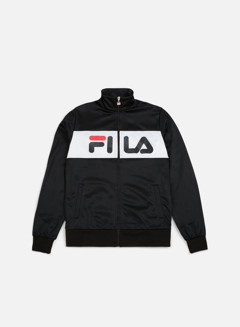 felpe fila balin track jacket black