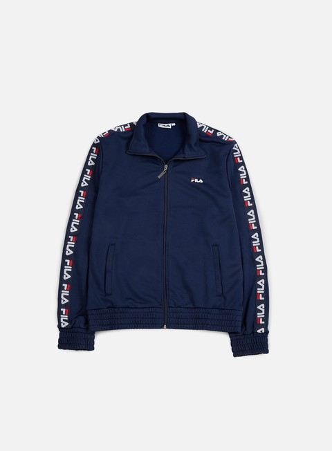 felpe fila champ track jacket black