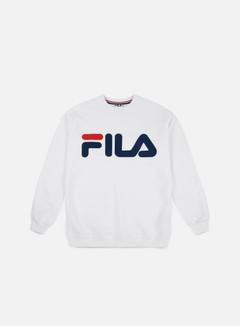 Fila - Classic Logo Crewneck, Bright White