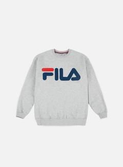 Fila - Classic Logo Crewneck, Light Grey 1