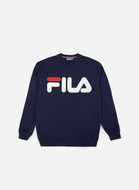 Crewneck Sweatshirts Fila Classic Logo Crewneck