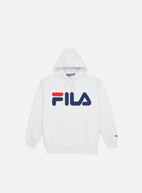 Sale Outlet Hooded Sweatshirts Fila Classic Logo Hoodie Kangaroo
