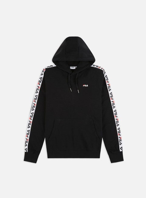 Hooded Sweatshirts Fila David Taped Hoodie