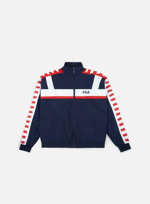 Zip hoodie Fila Devin Woven Jacket