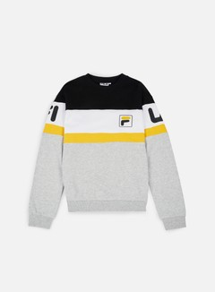 Fila - Dylan Crewneck, Old Gold/Bright White 1