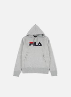 Fila - Essential Hoodie, Grey Marl