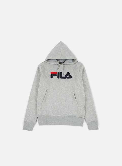 felpe fila essential hoodie grey marl