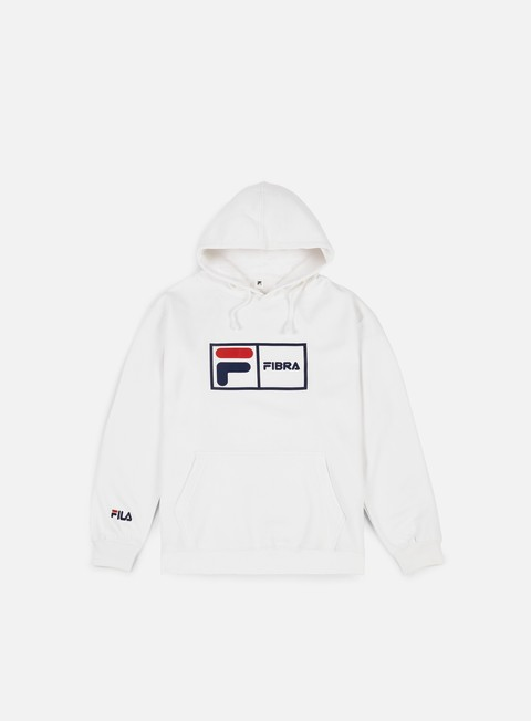 felpe fila fibra hoodie white