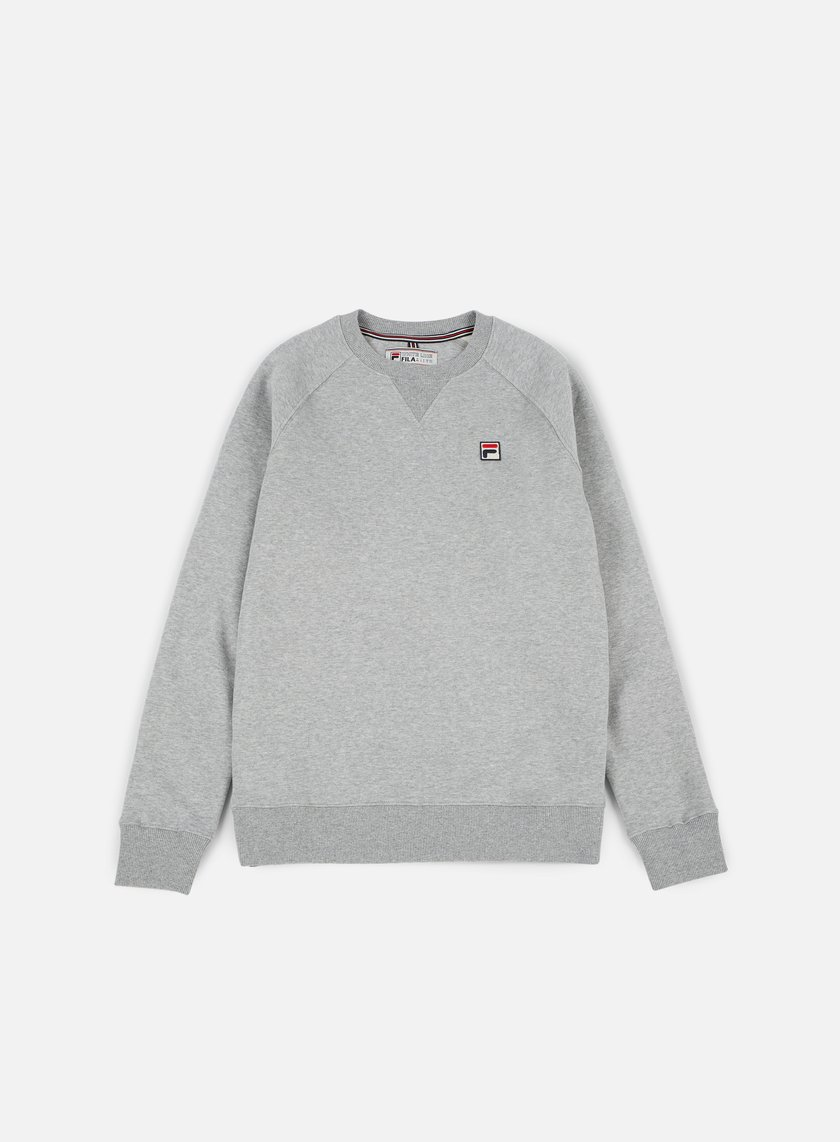 Fila - Filippo Crewneck, Medium Grey Marl