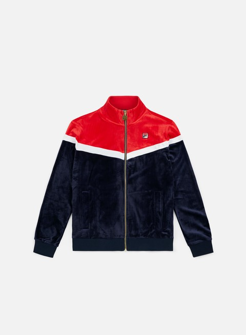felpe fila harry track jacket peacoat