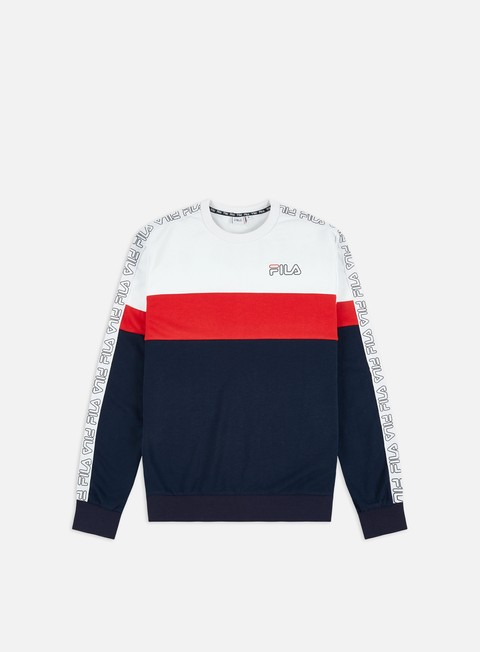 Fila Jacoby Blocked Tape Crewneck