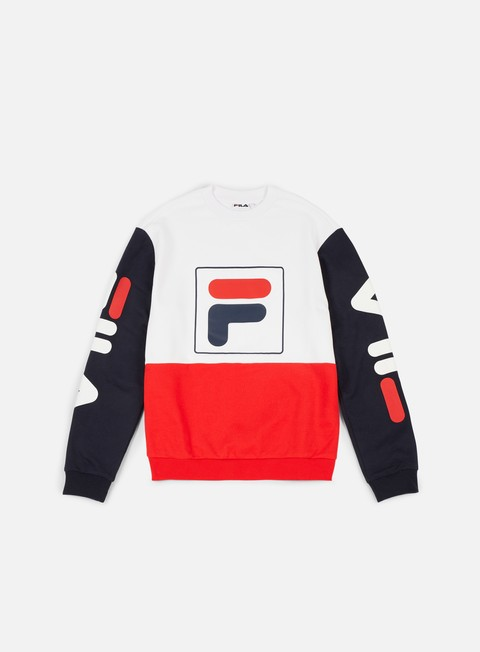 felpe fila jamie crewneck black iris high risk