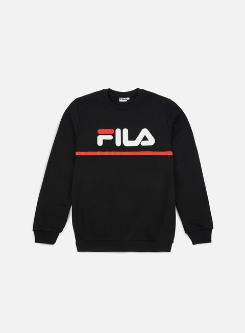 felpe fila jun crewneck black