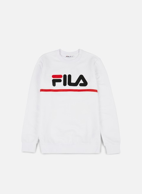 felpe fila jun crewneck bright white