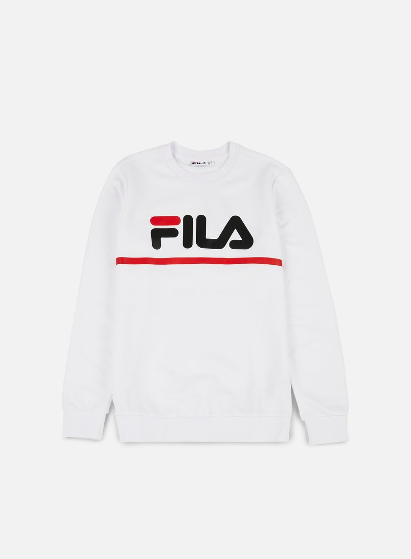 Fila - Jun Crewneck, Bright White