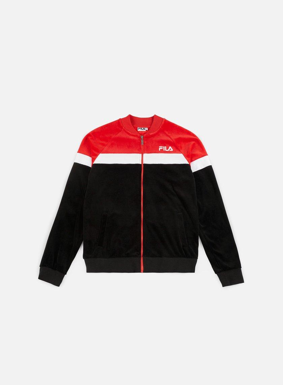 d6536a267789 FILA Kevin Velvet Track Jacket € 40 Zip Sweatshirts | Graffitishop