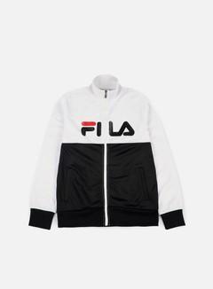 Fila - Logan Track Jacket, Bright White/Black 1
