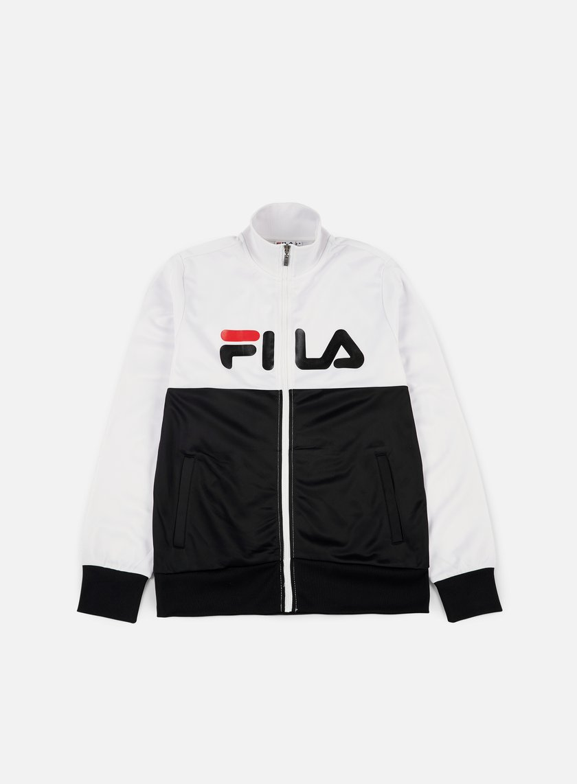 Fila - Logan Track Jacket, Bright White/Black