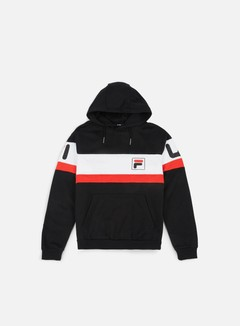 Fila - Nick Hoody, Black/Bright White 1