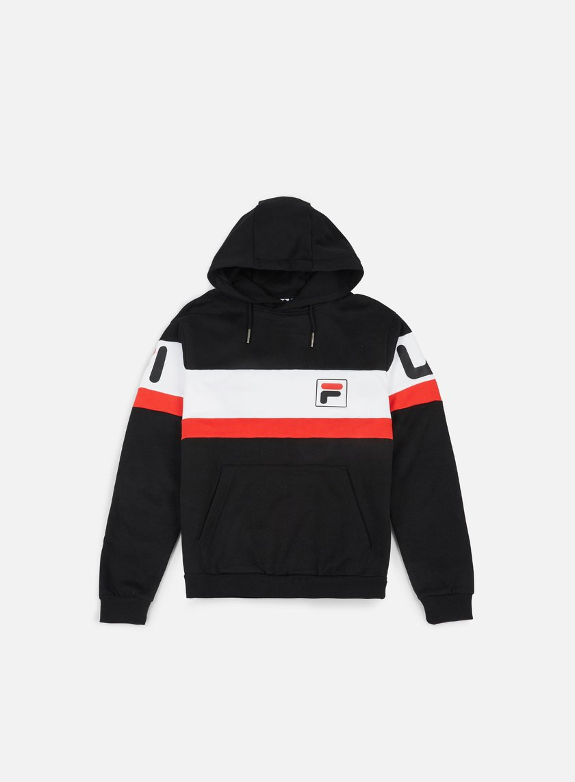Fila - Nick Hoody, Black/Bright White