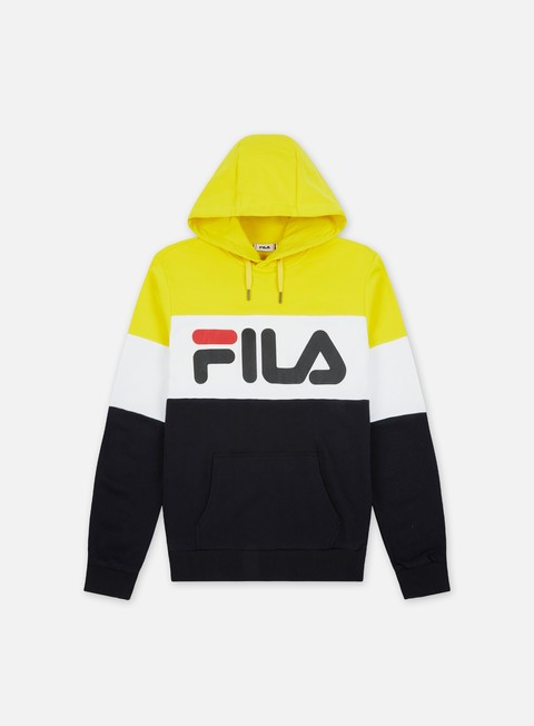 Hooded Sweatshirts Fila Night Blocked Hoodie