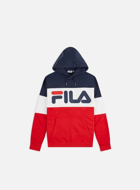 Outlet e Saldi Felpe con Cappuccio Fila Night Blocked Hoodie