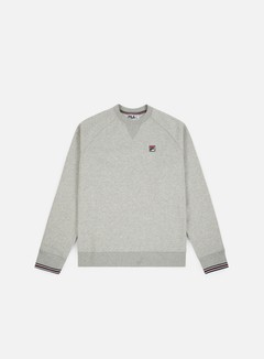 Fila - Pozzi Crewneck, Light Grey Marl