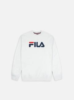 Fila - Pure Crewneck, Bright White