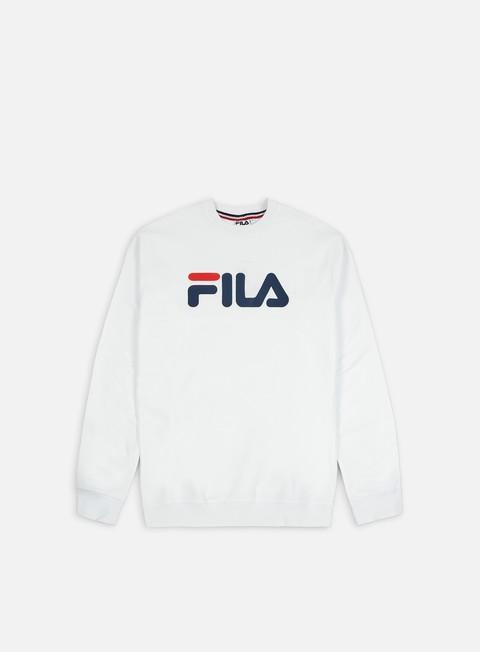 Logo Sweatshirts Fila Pure Crewneck