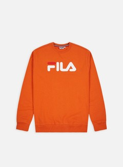 Fila - Pure Crewneck, Harvest Pumpkin