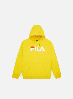 Fila - Pure Hoodie Kangaroo, Empire Yellow