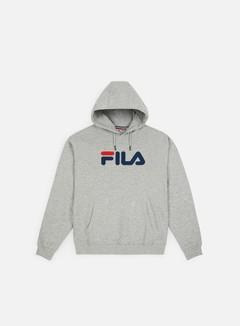 Fila - Pure Hoodie Kangaroo, Light Grey Melange