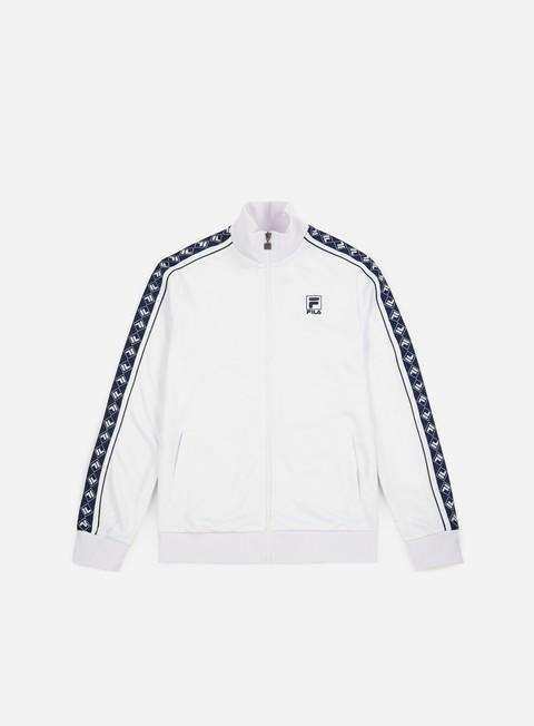 felpe fila ralph track jacket bright white