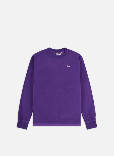 Felpe Girocollo Fila Renly Crewneck,Tillandsia Purple