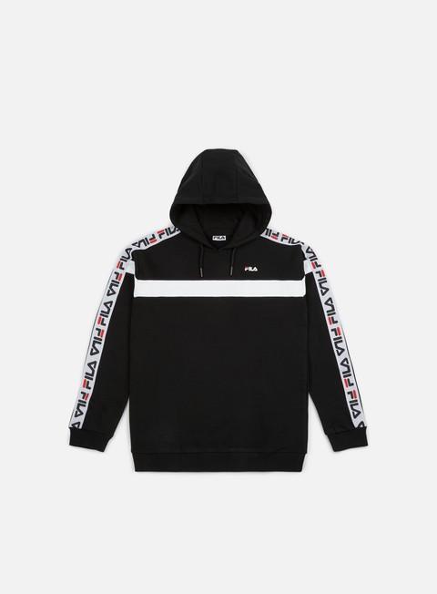 felpe fila robben tape hoodie black