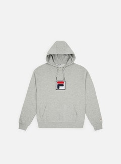 Fila - Shawn 2 Hoodie, Light Grey Melange