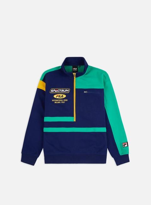 Felpe half zip Fila Spectrum International Half Zip Sweatshirt