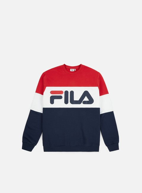 64d3afbad6ab8 Fila Straight Blocked Crewneck  Fila Straight Blocked Crewneck ...