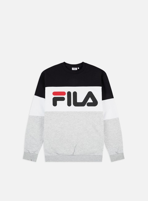 Crewneck Sweatshirts Fila Straight Blocked Crewneck