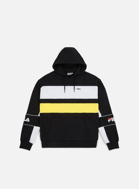 felpe fila tan hoodie black