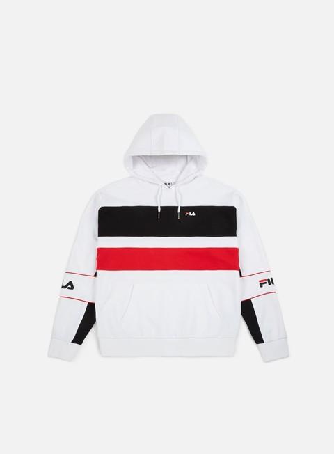 felpe fila tan hoodie bright white