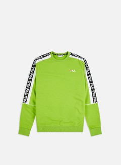 Fila - Teom Crewneck, Lime Green
