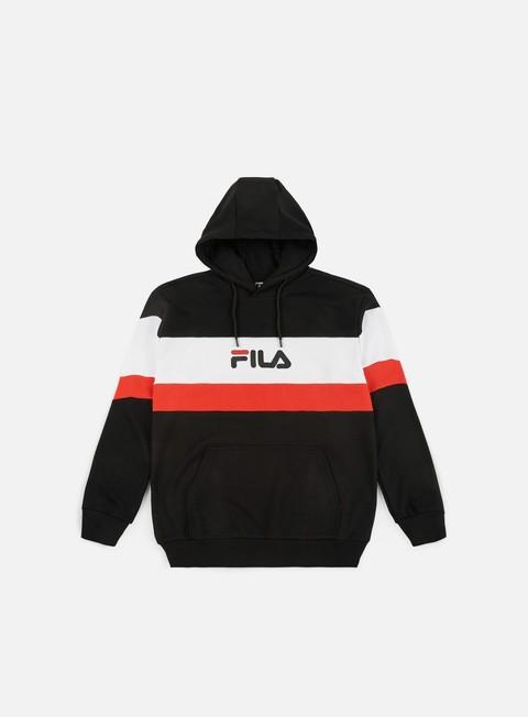 felpe fila thomas hoodie black