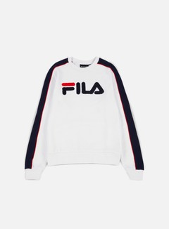 Fila - Toby Fashion Crewneck, White 1